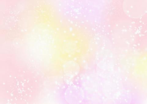 Glitter spring pastel color cute background pink illustration