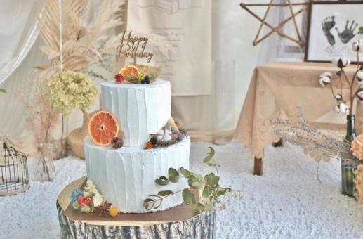 Birthday, display, cake, happy birthday