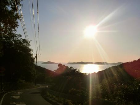 Seto Inland Sea Teshima Sunset