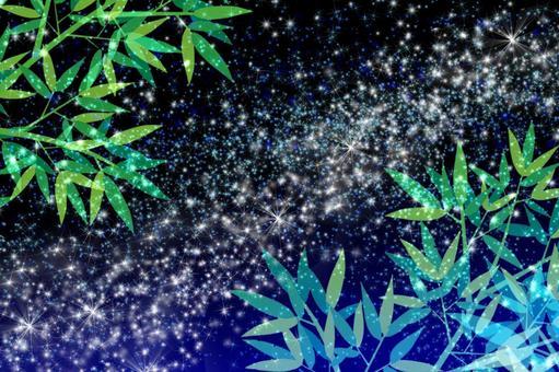 星空銀河七夕層