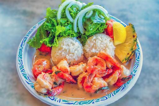Garlic Shrimp (Hawaii)