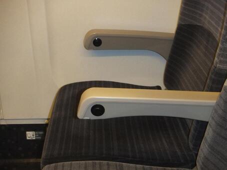 Tohoku Shinkansen Seat # 1 Reclining
