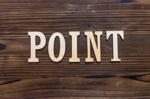 Wooden character _ POINT