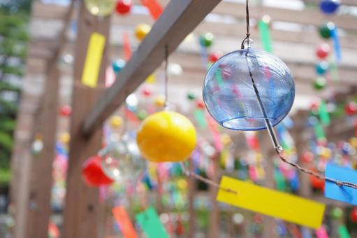 Summer wind chimes
