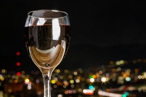 와인과 야경