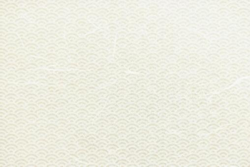 Japanese paper texture background material with Qinghai wave pattern