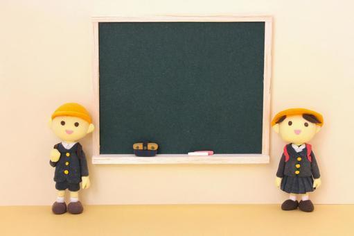 黑板,小学生1