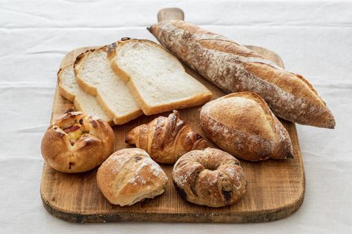 Various bread bread set
