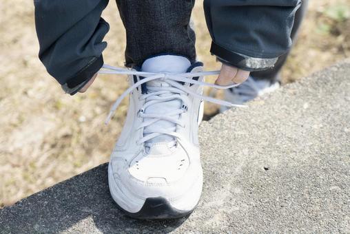 People who wear sneakers