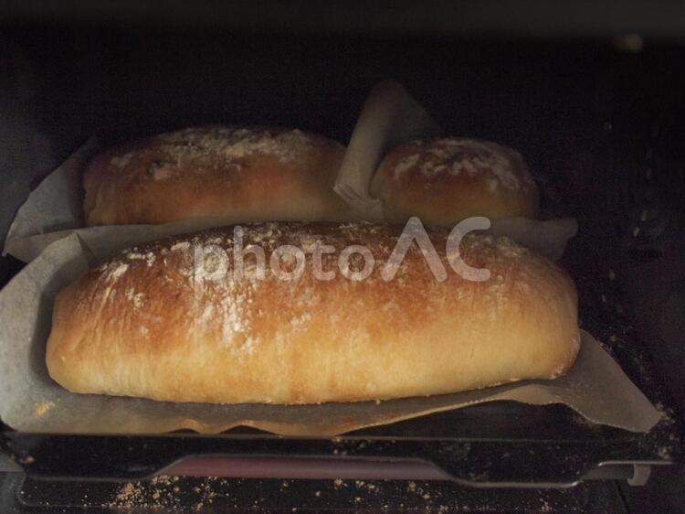 手作りフランスパンの写真