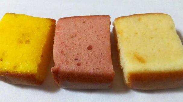 Confectionery 19 (orange, strawberry, milk)