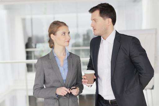 Businessman and business woman 8