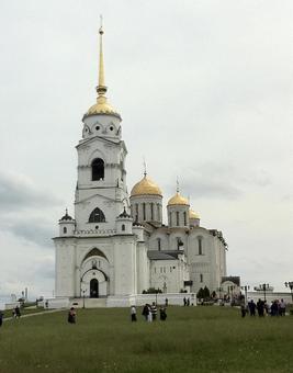 우스 펜 스키 성당, 블라디미르, 러시아.
