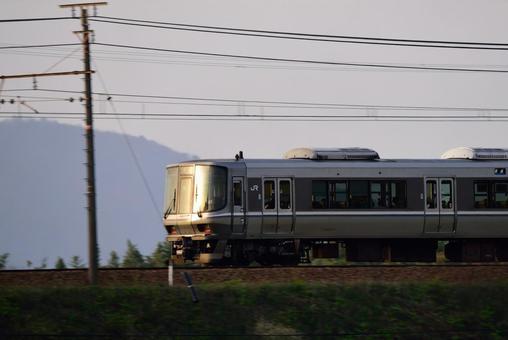 Railway, JR West 223 series train 006