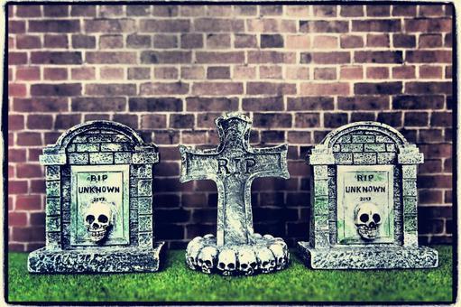 오싹한 할로윈 묘지
