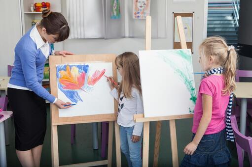 小学生和工艺美术教师的时间4