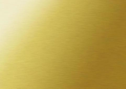 Golden metal hairline texture background material