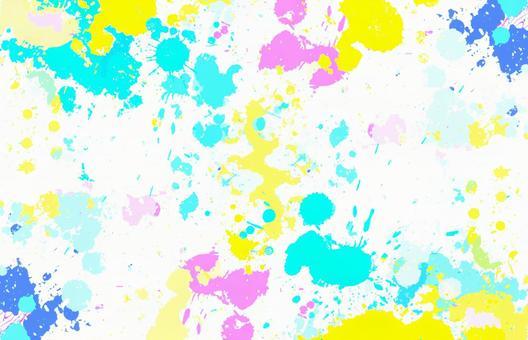 산산조각 다채로운 페인트 스플래시 이미지 1