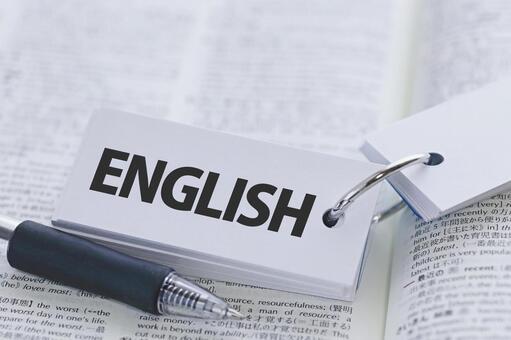 English study English ENGLISH word card image material