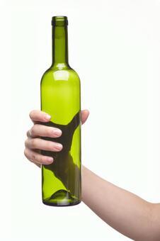Hand pose bottle 7