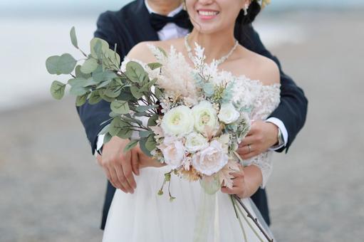 婚禮前的海灘婚禮