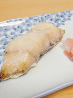 흰살 생선의 粕漬け 1