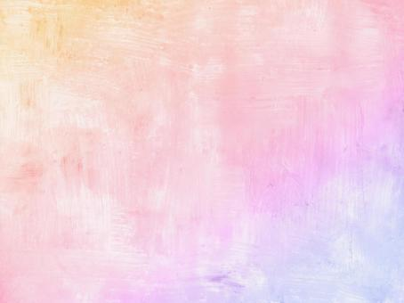 Watercolor background texture rainbow