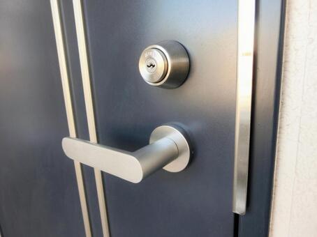 손잡이와 열쇠 구멍