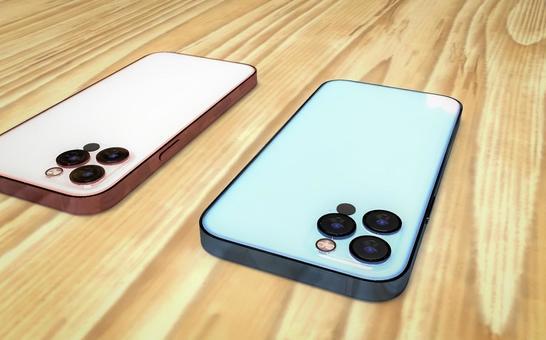 Latest smartphone model 3D model