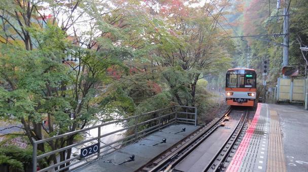 에이든 (叡 山? 전철)