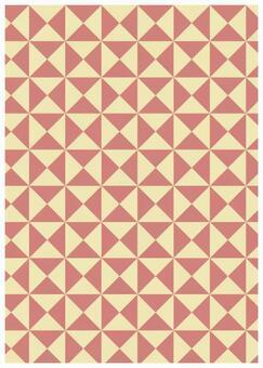 Geometric texture Ribbon Pink