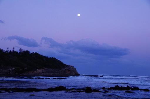 새벽의 바다