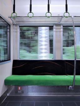 在火车车厢
