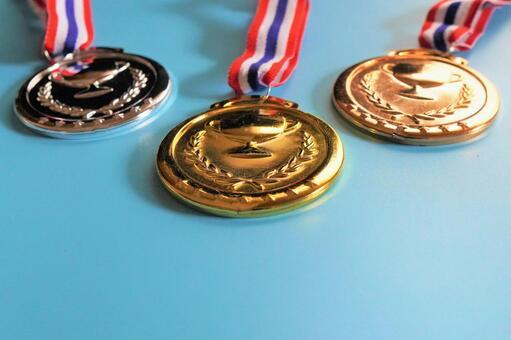Medal gold / silver / bronze d
