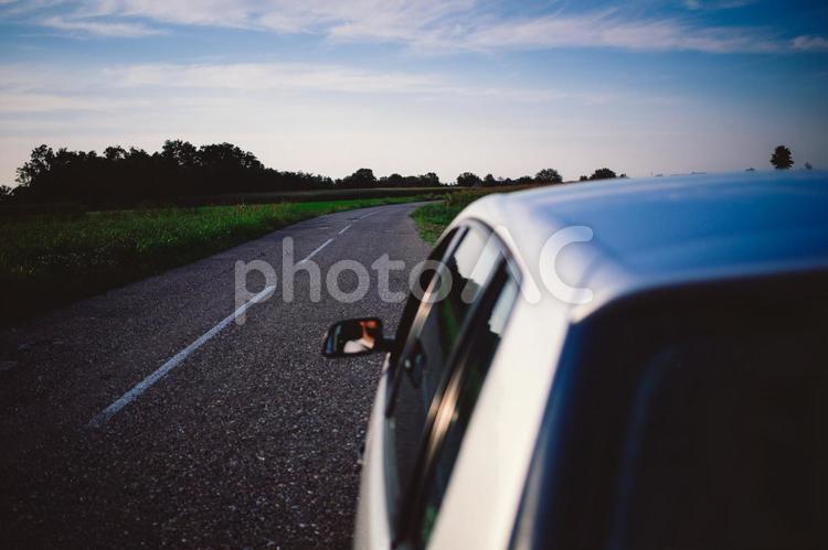 車のある風景17の写真