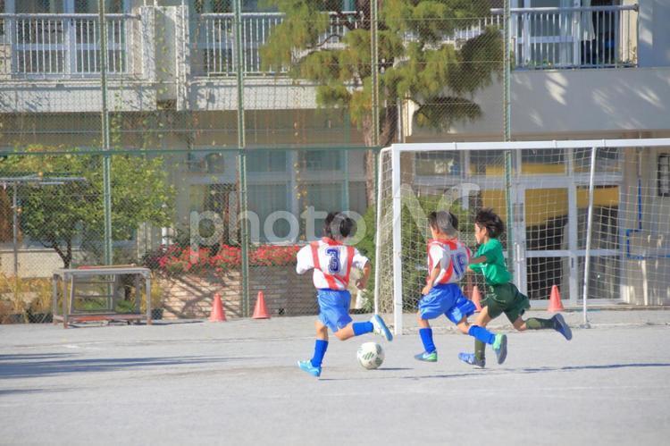 少年サッカーの写真