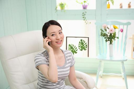 Female calling 4