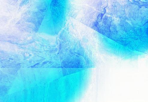 Blue marble background texture frame