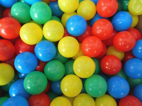 Ball pool ball color ball colorful red yellow green blue toys