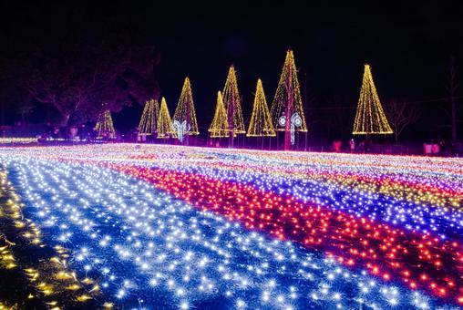 Illuminations at Kiso Sansen Park