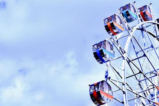 Ferris wheel natural