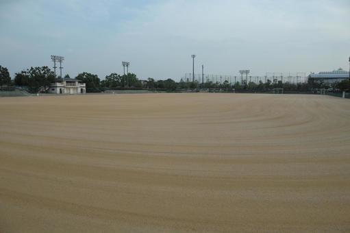 Playground ground maintenance
