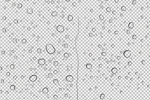 비 물방울 빗방울 이슬 물방울 텍스처 배경 투명 psd