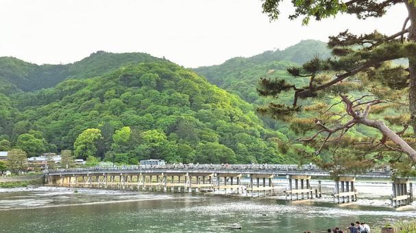 Kyoto Arashiyama · Togetsu Bridge and Otogawa river 2