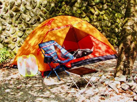 Okutama solo camp