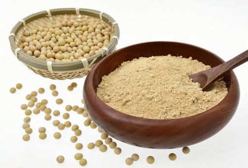 Kinako Kinako and soybeans