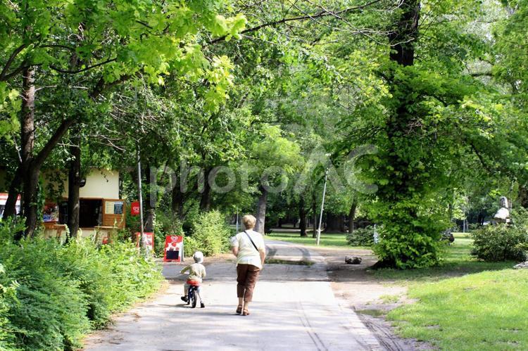 ヨーロッパ郊外の風景の写真