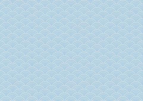 Qinghai wave pattern light blue color