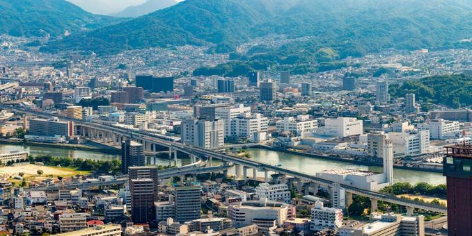 Hiroshima highways and streets