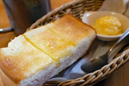Freshly baked toast